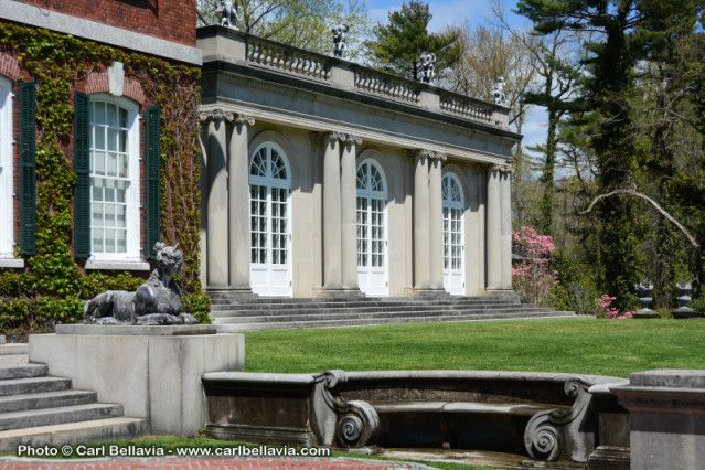 Long Island NY Mansion Film Photo Location Shoot 9014: Immaculate Grounds & Gardens: Film Friendly | The Location Department