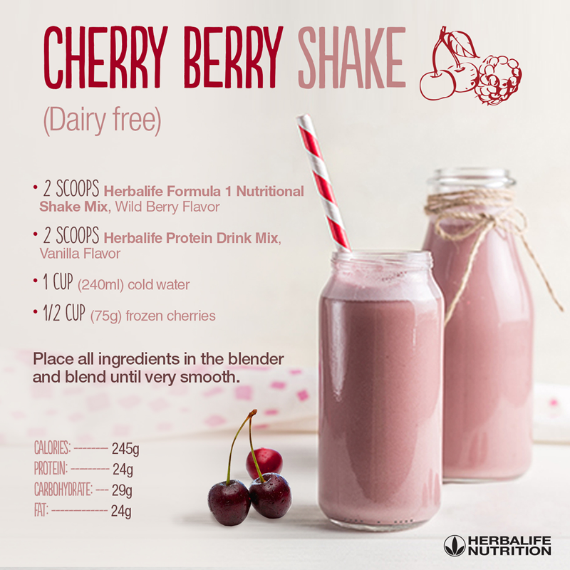 Herbalife, Herbalife Shake Recipes
