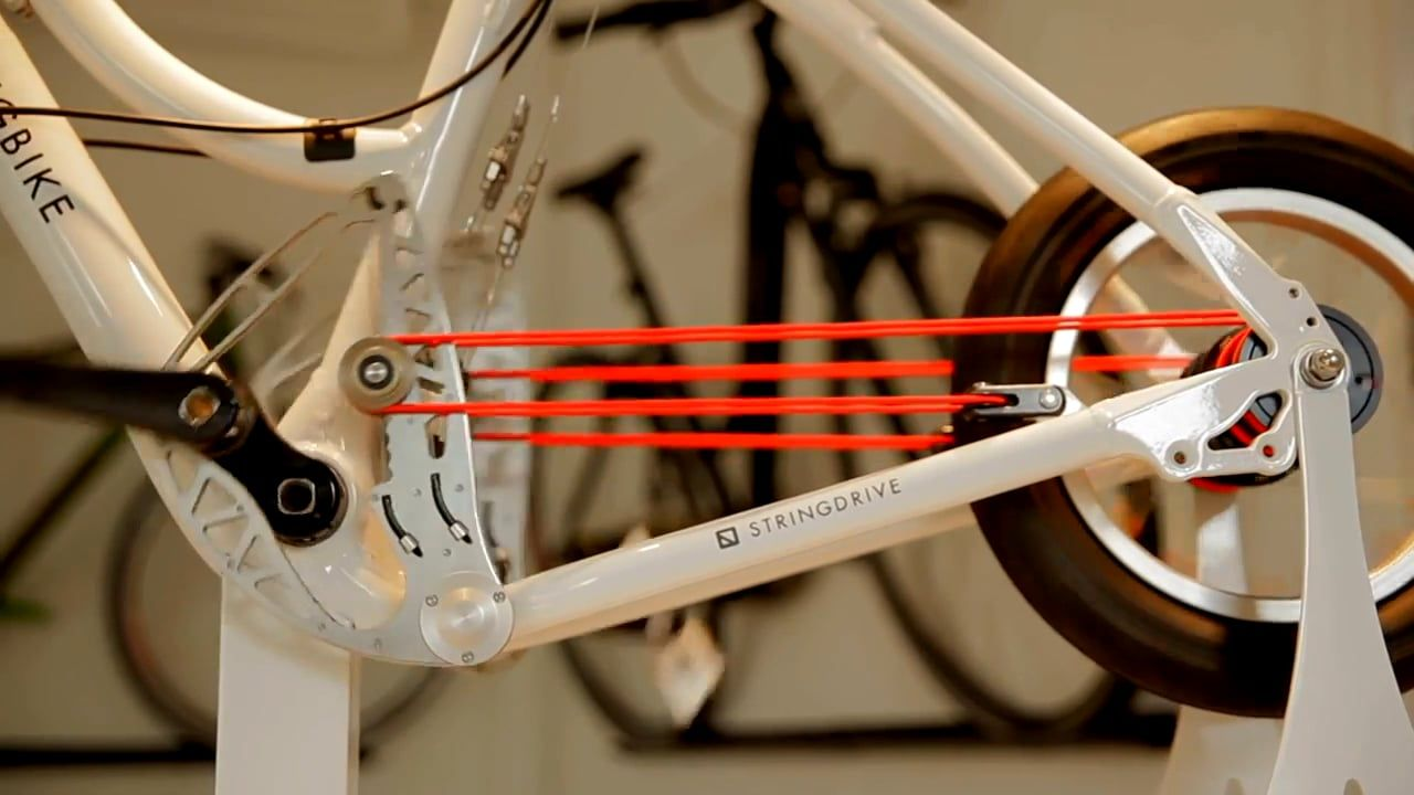 8f2c34dffc3 the stringbike uses a rope and pulley drive system instead of a traditional  chain