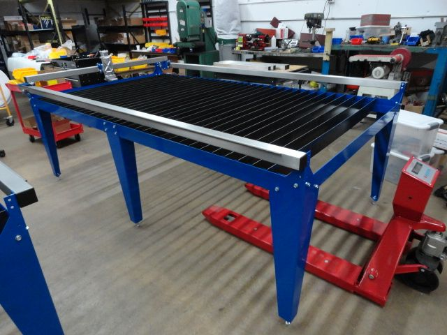 Build a 4x8 cnc plasma table for under 5k pirate4x4 com - Plan fabrication table ...