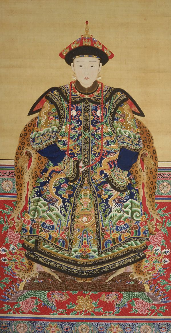 Portrait of a Manchu Noblewoman  probably 19th century