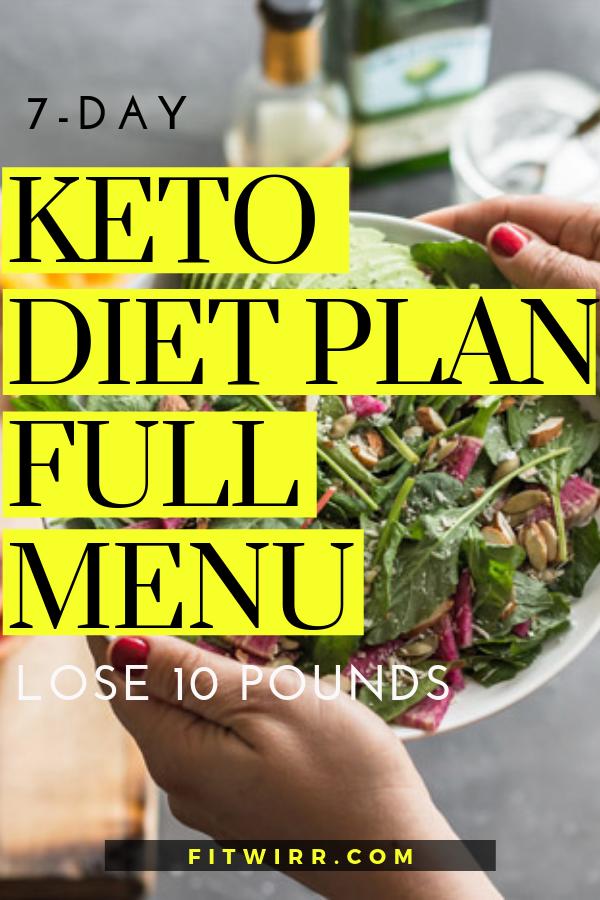 Flat Stomach 7 Day Keto Diet Plan
