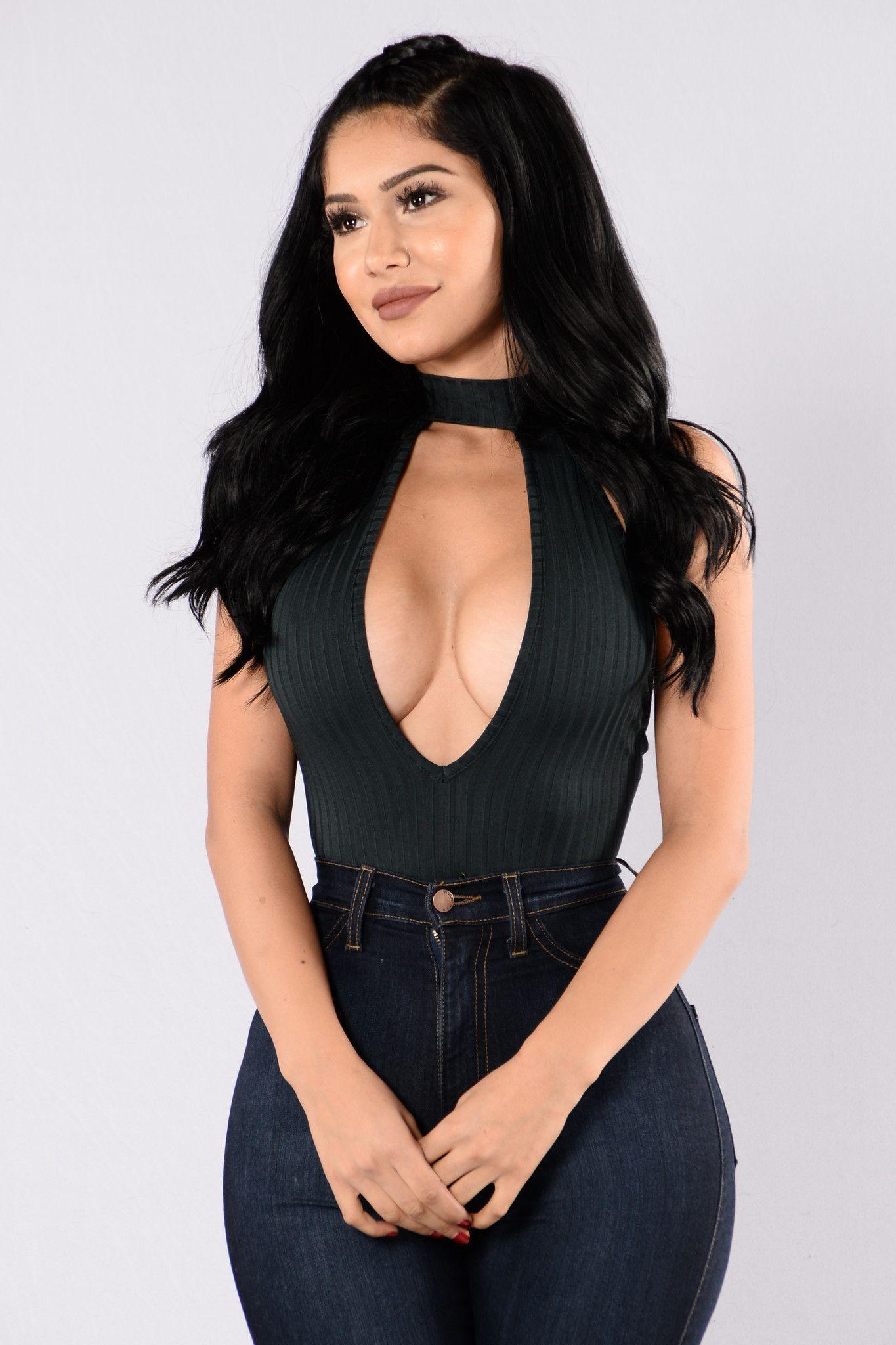 Jolie Bodysuit - Hunter Green