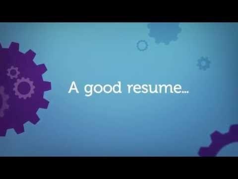 1) 10 Elements of a Good Resume - YouTube Teachinu0027 them - Job - elements of a good resume