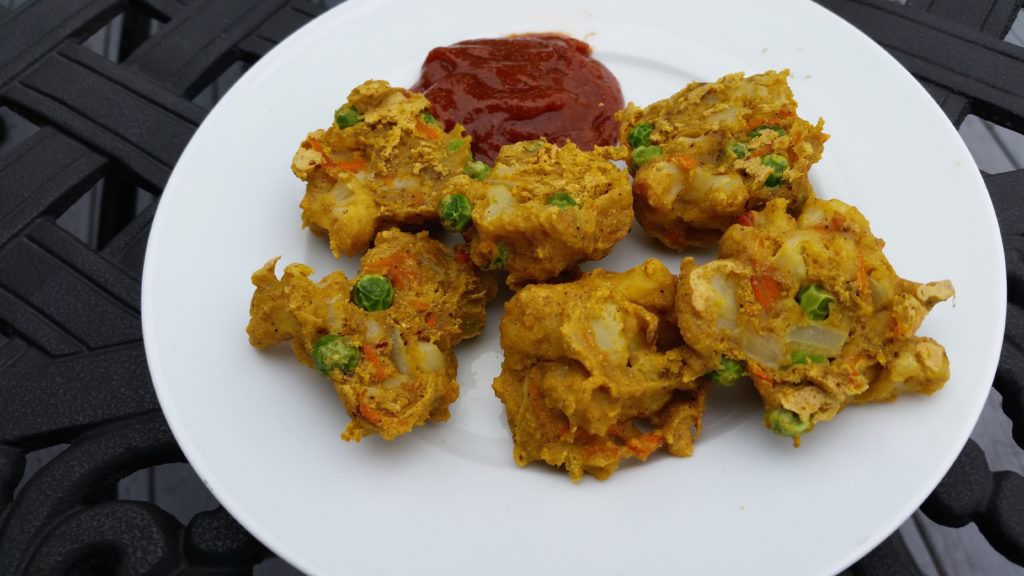 Indian Pakora No Oil Vegan Potato Strong Oil Free Vegan Recipes Whole Food Recipes Whole Foods Vegan
