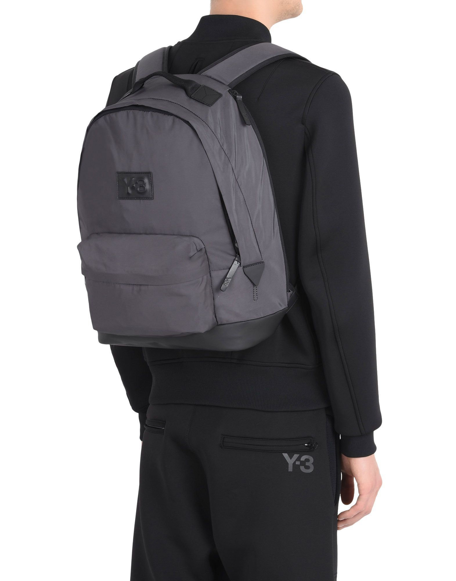2b1b56317751 Adidas - Y-3 TECHLITE BACKPACK - grey unisex
