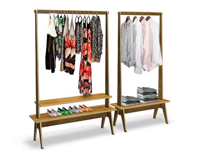 Portant à Vêtements Mrt Par Kieser Spath Product Design And Spaces - Portant vetement design