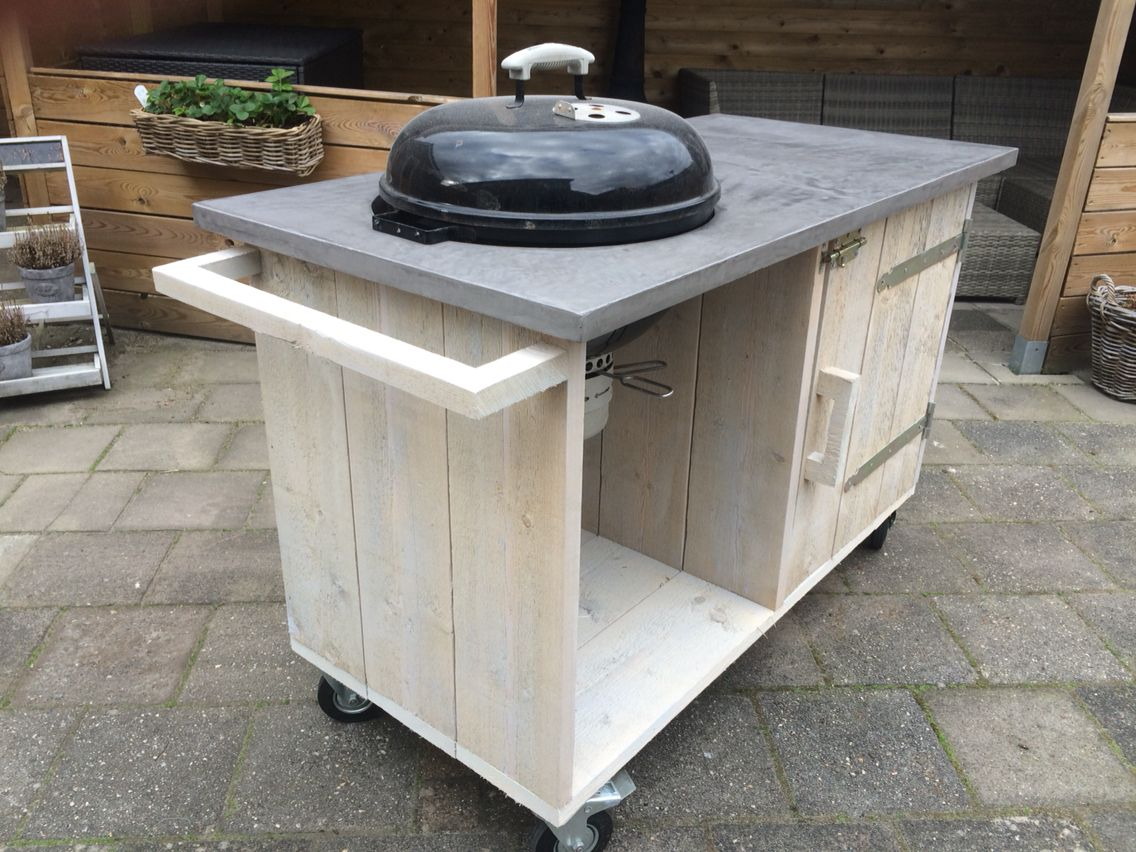 Weber Grill Tisch Buitenkeuken Outside Kitchen Bbq Weber Bealmortex
