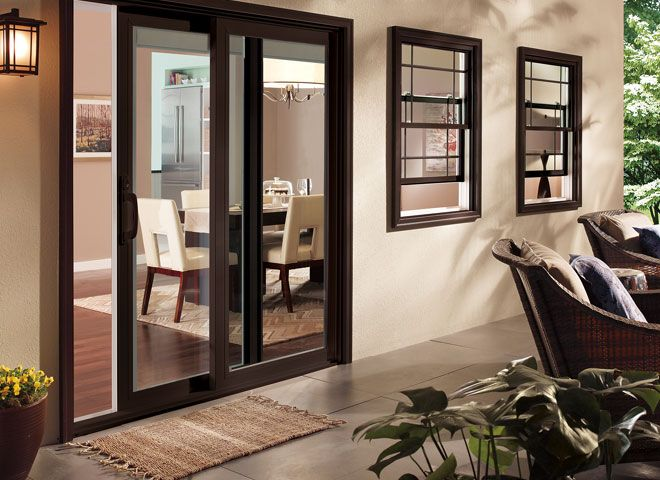 Pella 350 Series Patio Doors Energy Efficient Doors Pella Com Sliding Glass Doors Patio Sliding Glass Door Patio Doors
