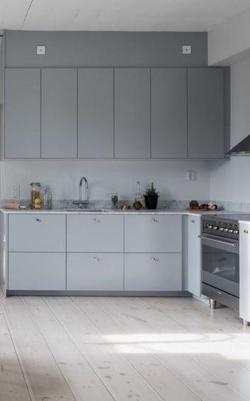 Schön Majestic Home COCO LAPINE DESIGN. Dekoration, Hellgraue Küchen .
