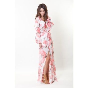 4a57272df5b04 Show Me Your Mumu Blossom Blush Jocelyn Maxi Dress | What I really ...