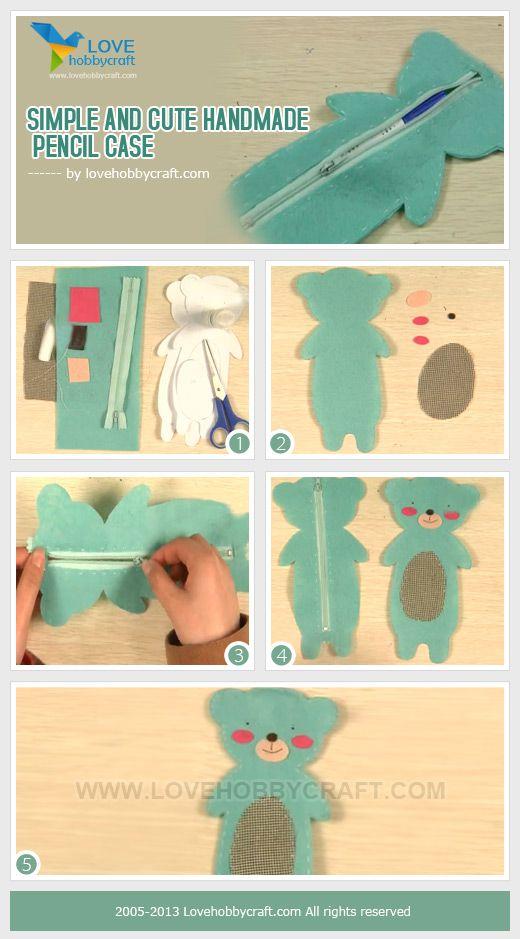 Estuche | Costura | Pinterest | Nähen, Schuhkarton und Nähen für kinder
