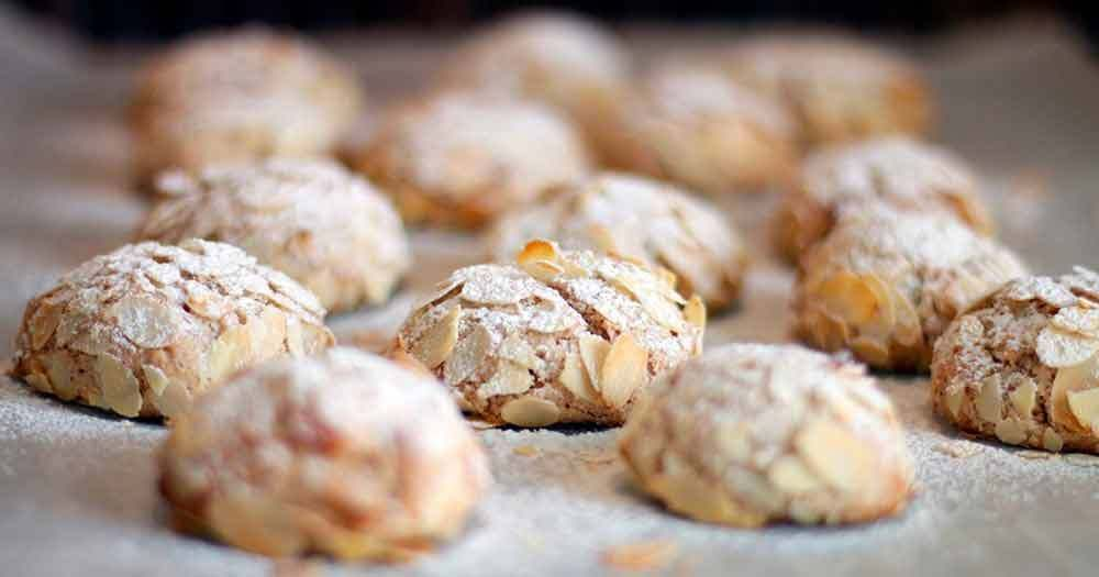 Bocconcini italienske mandelkager nytår kransekage opskrift #kransekageopskrift