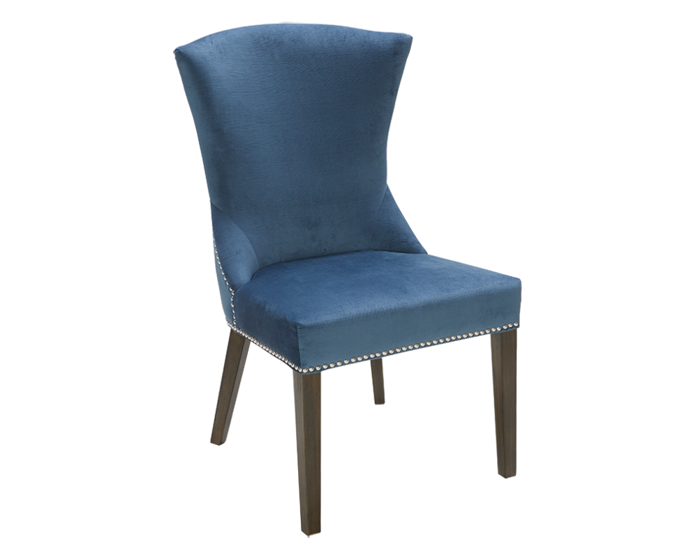SABRINA DINING CHAIR - INK BLUE | D-单椅 | Pinterest | Dining chairs ...