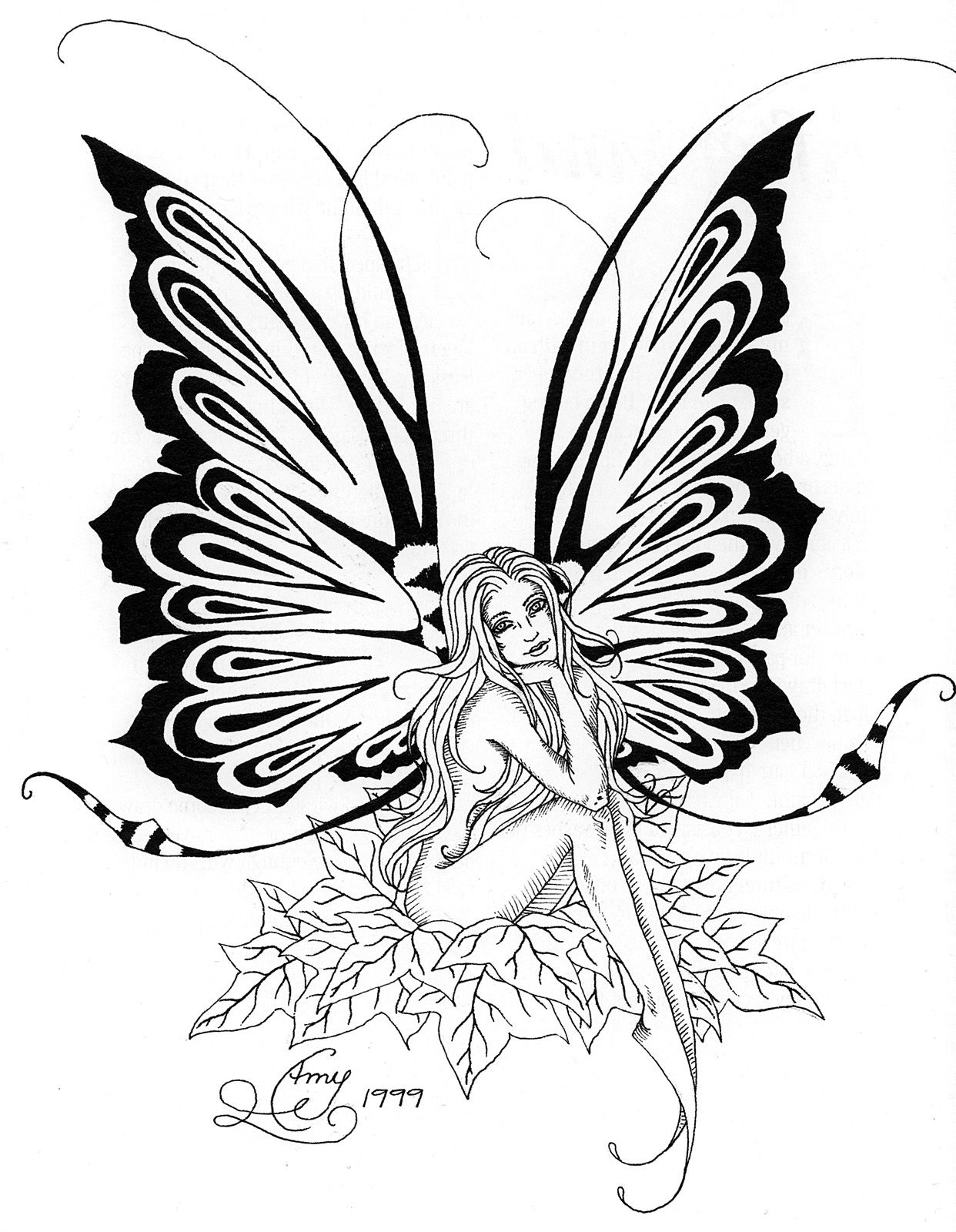 Amy Brown Fairy Myth Mythical Mystical Legend Elf Fairy Fae Wings Fantasy Elves Faries Sprite Nymph Pixie Fa Fairy Coloring Pages Coloring Pages Fairy Coloring