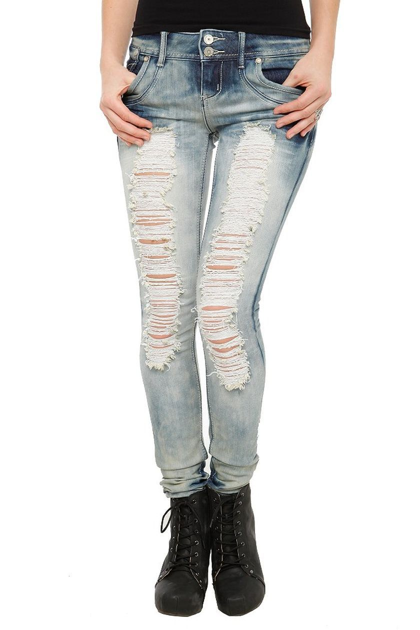 50  Awesome Skinny Ripped Jeans for Women That Will Make You Rock ...