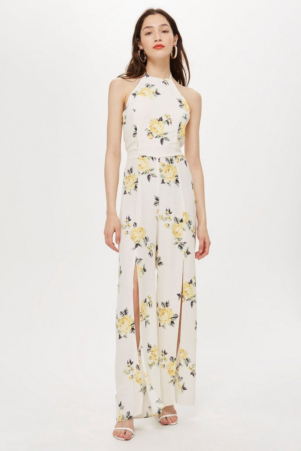 bbf247a163   Florence Floral Print Split Front Jumpsuit by Nobody s Child - Topshop  Europe