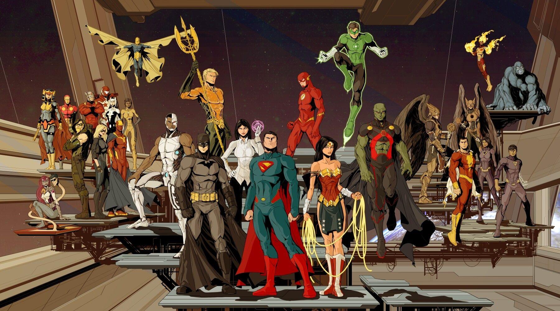 Artstation Ultimate Justice League Salvador Velazquez Justice League Artwork Justice League Comics Justice League Animated