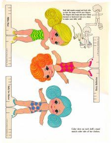 Paper Dolls~FingerDing - Bonnie Jones - Picasa Webalbum