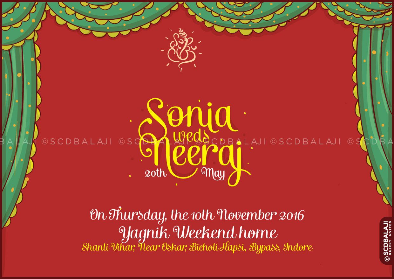 "Invite your dear ones, the Marwari way "" Marwari weddings are an ..."
