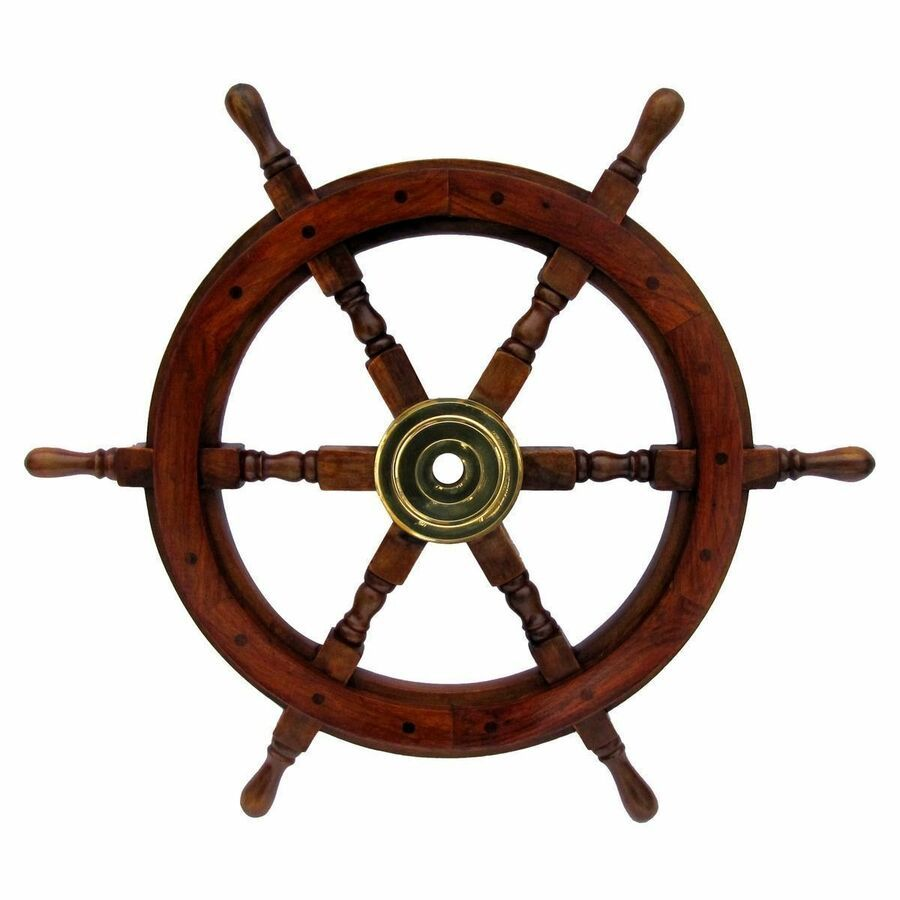 Details About X Mas 12 Wooden Ship Wheel Pirate Shipwheel Nautical Ship Wheel Gift It Brass Decor Maritime Decor Pirate Decor
