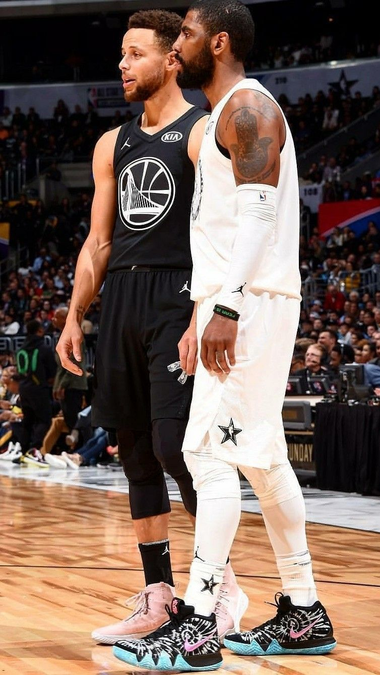 pretty nice c4877 d16d0 Kyrie Irving and Stephen Curry All-Star Wallpaper ...