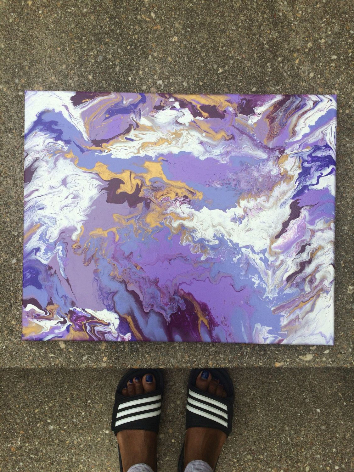 A personal favorite from my Etsy shop https://www.etsy.com/listing/465876440/fluid-art-abstract-art-abstract-painting