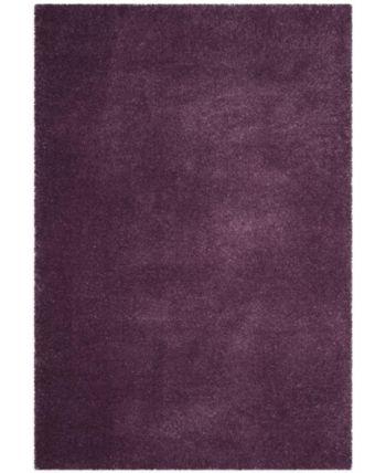 Safavieh Colorado Shag Purple 6' x 9' Area Rug & Reviews - Rugs - Macy's #area51partyoutfit