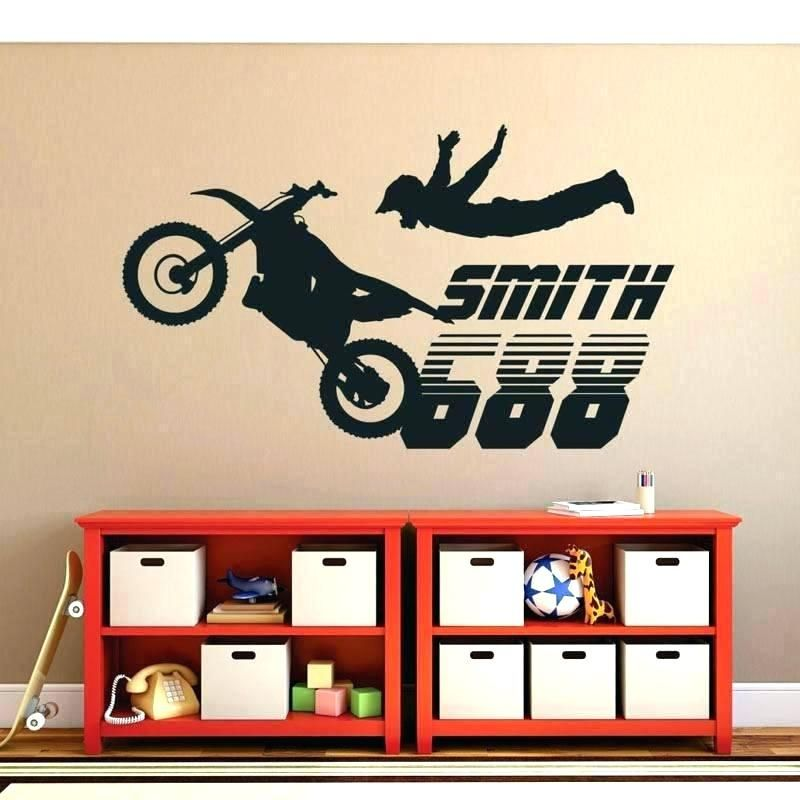 Motocross Bedroom Wallpaper (With images