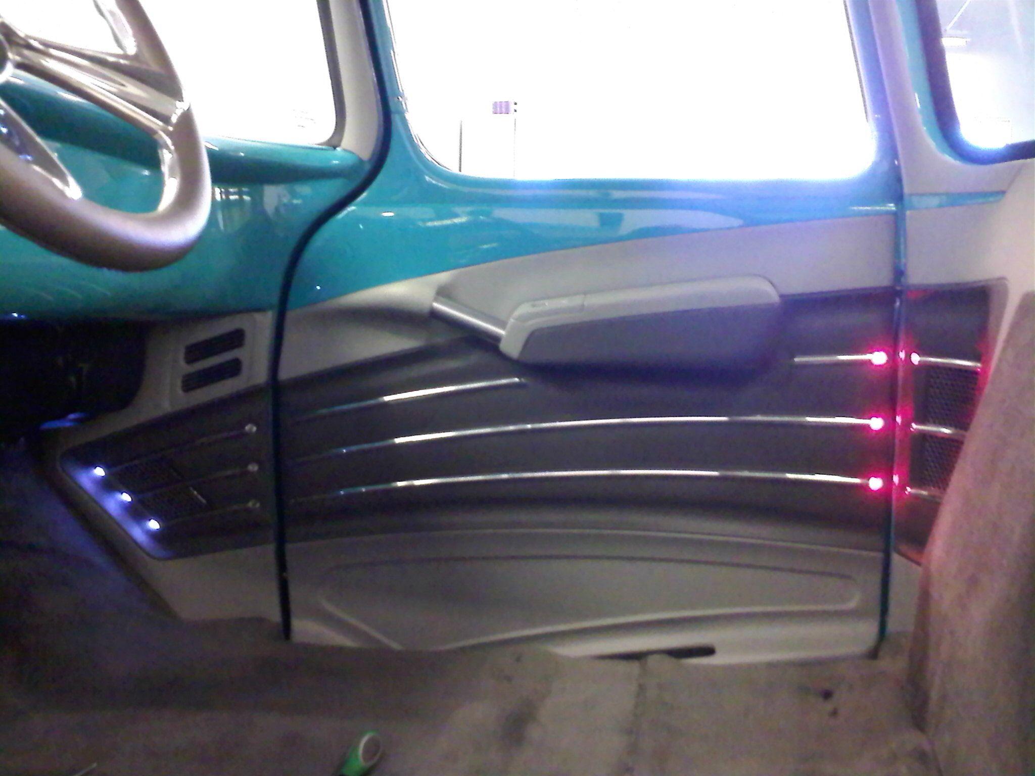 1957 Chevy Cameo Door Panel Panel Doors Custom Door Upholstery