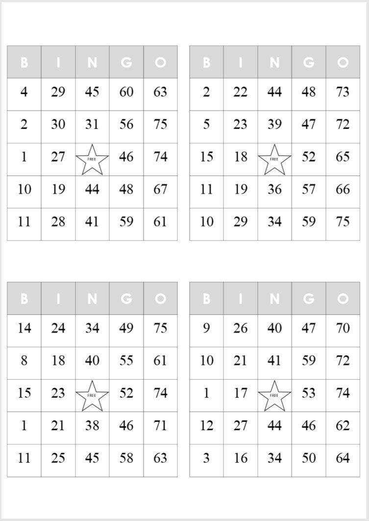 Pin By Hazel Waterman On Tea In 2021 Free Printable Bingo Cards Bingo Card Template Bingo Cards Printable