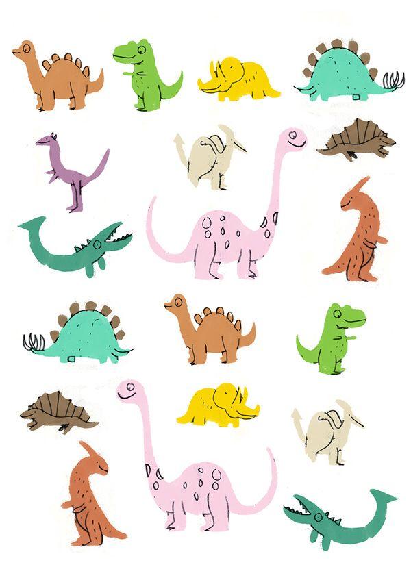Dinosaurs #dinosaurillustration