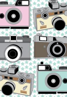 Vintage Cameras by Joanne Paynter Design