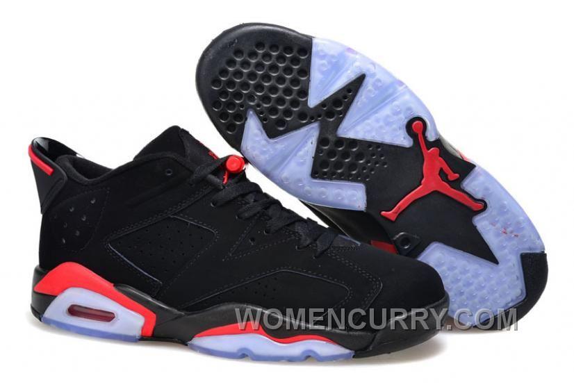 0e676d3c20894 Mens Air Jordan 6 Low Black Infrared 23-Black For Sale Discount ...