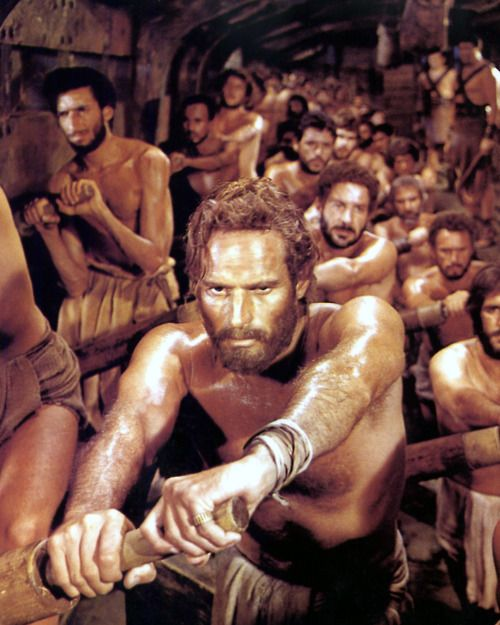 Row Well And Live Quintus Arrius To Judah Ben Hur 1959 Ben Hur