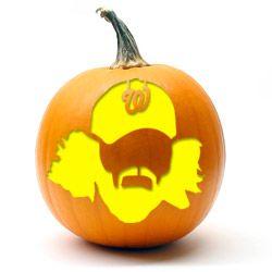 washington nationals pumpkin template  Nationals | Pumpkin carving, Pumpkin, Washington nationals ...