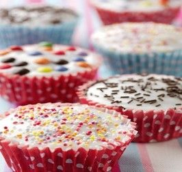Chocolate Chip Fairy Cakes Recipe Cake Decorating Icing
