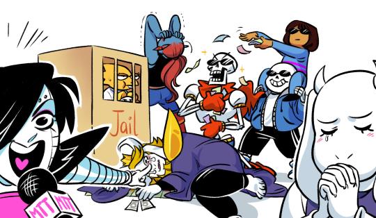 Monopoly draw the squad meme - Undertale Sans and Frisk