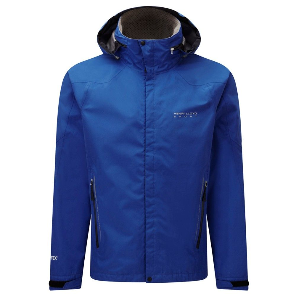 North End Linear Mens Insulated Jacket with Print 88197-Nautical Blue