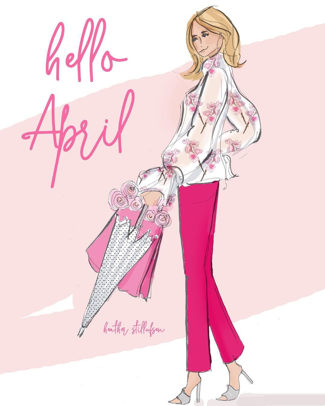 "Heather 🌸 Stillufsen on Instagram: ""Hello 🌸 April ..."