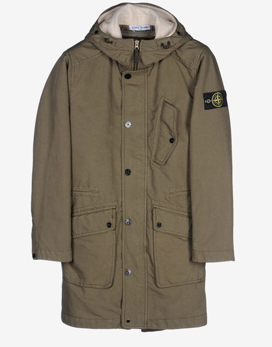Parka - Coats & jackets Stone Island Men on Stone Island Online Store - Fall-Winter Collection for Men. Worldwide delivery.| 70349 DAVID-TC
