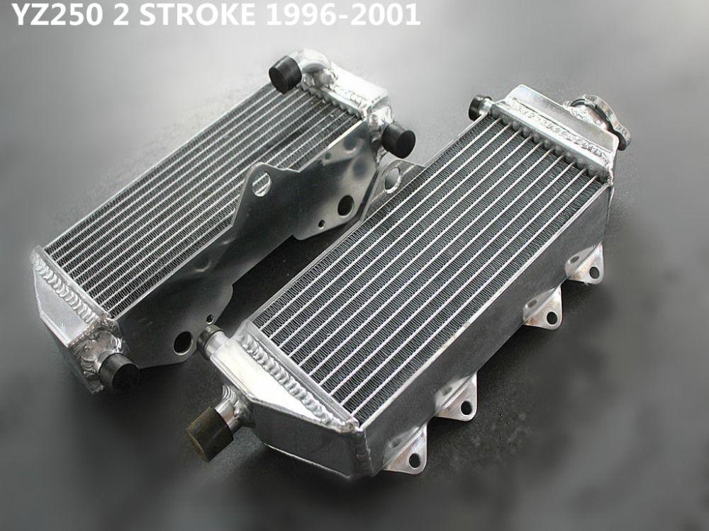 For Yamaha YZ250 YZ 250 1996-2001 1997 1998 1999 2000 2001 Aluminum Radiator