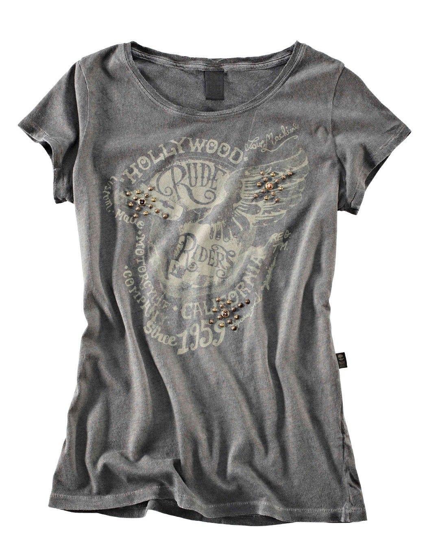 e6238738f39f0e Rude Riders Damen T-Shirt Love Machine