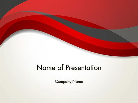 Abstract red and gray wave powerpoint template downloads free abstract red and gray wave powerpoint template toneelgroepblik Choice Image
