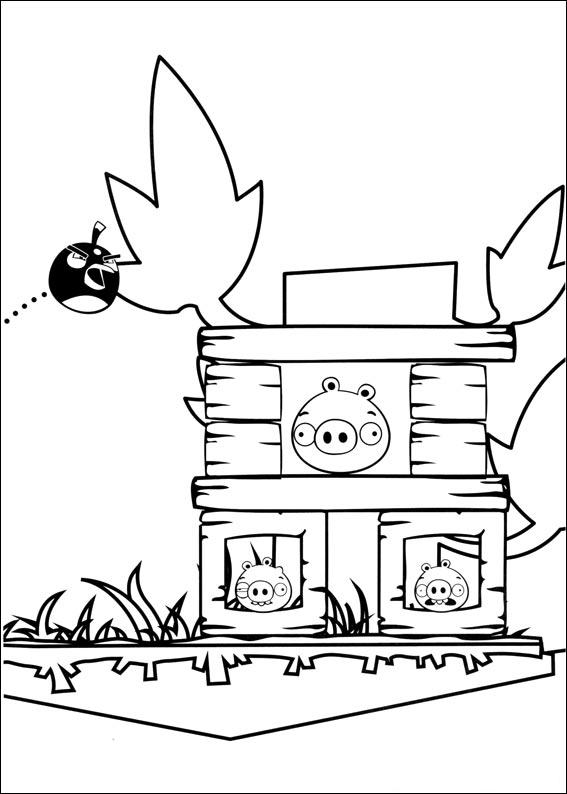 Kolorowanki Angry Birds Do Wydruku Colouring Pageskolorowanki