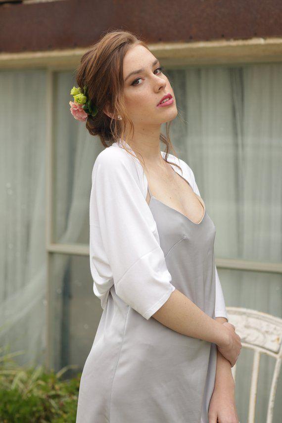 White plus size bolero, women\'s bolero, detach wedding sleeve, plus ...