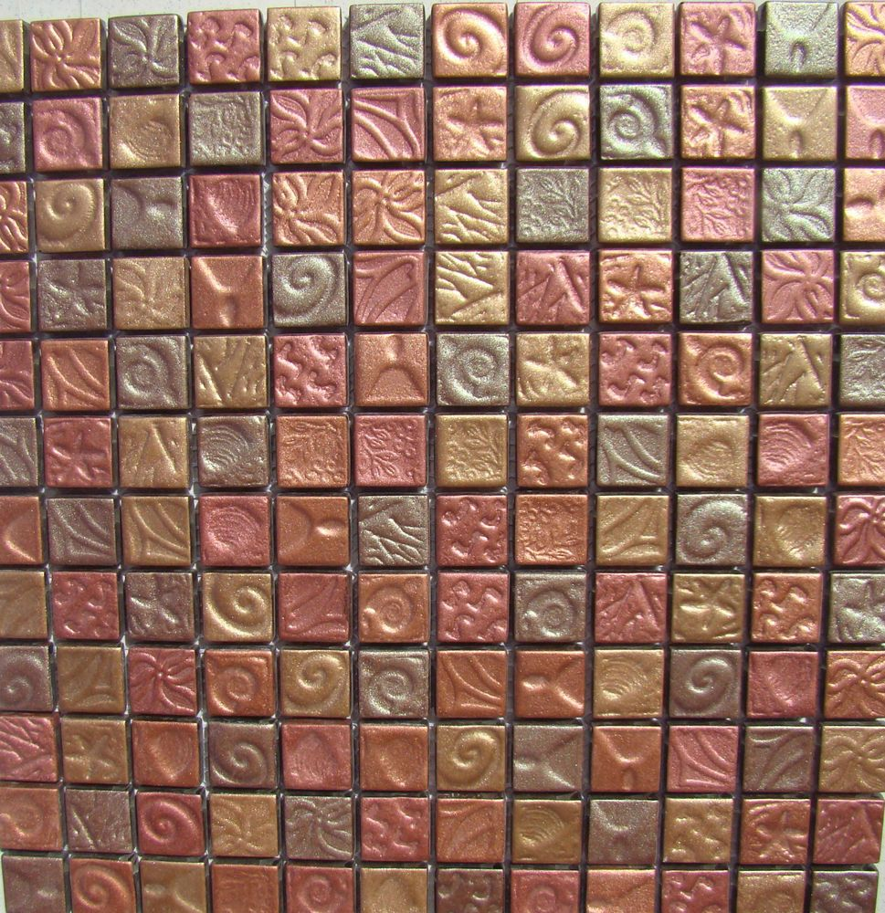 Autum leaves mosaic tile bronze copper gold wall tiles backsplash autum leaves mosaic tile bronze copper gold wall tiles backsplash bath bar dailygadgetfo Image collections