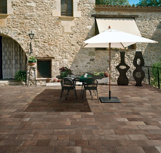 Firenze Outdoor Bruno 8x8, 8x12 and 8x16 Porcelain Tile Pattern ...