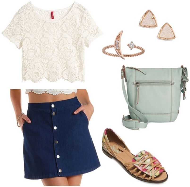 Fabulous Find of the Week: Charlotte Russe Denim Skirt - College Fashion