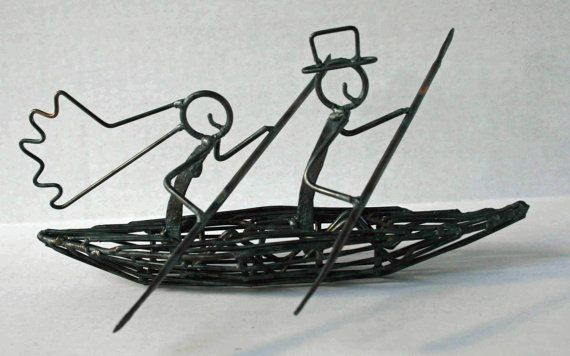 Kayak cake topper but in silver. What do you think of this @Chelsie Wagner?!
